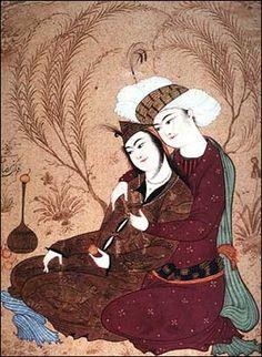 Reza Abbasi - Imagem para Sonhar