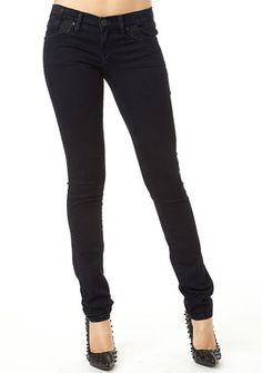 Truck Jeans Pieced-Pocket Super-Stretch Skinny Jean