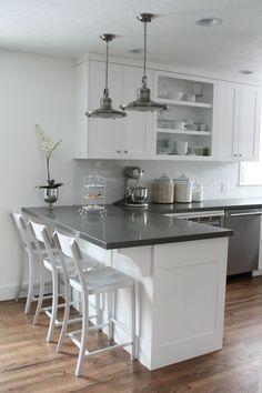 White Kitchen With Black Granite 7 smart strategies for kitchen remodeling | farmhouse sinks, black