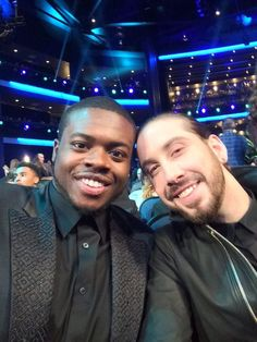"""""""Oh you know, @Avi_Kaplan and I enjoying the @TheAMAs"""" -- Kevin's twitter"""