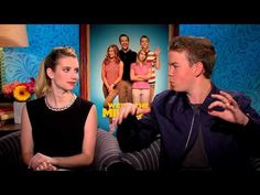 We're The Millers (2013) Emma Roberts & Will Poulter Interview #WereTheMillersAU #WereTheMillers #film