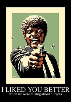 Say Yolo Again! - Samuel L Jackson Pulp Fiction Humor Natural Born Killers, Quentin Tarantino, Yolo, Non Plus Ultra, Double Dare, Cult Movies, Art Graphique, Just For Laughs, Miley Cyrus