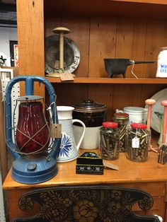Maggie and Dick Allen's booth have the best knick knacks and unique finds! Stop by The Antique & Auction Center today to take a look.