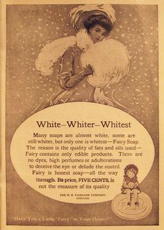 Vintage Advert for Fairy Soap 1908