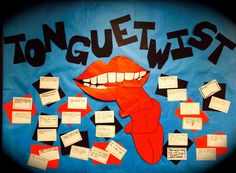 Tongue Twist - Alliteration Display for Figurative Language Unit - Literacy Loves Company