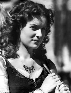 Maureen O'Hara in The Hunchback of Notre Dame (1939)