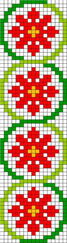 Cross stitch chart. Geometrical pattern. #cross_stitch