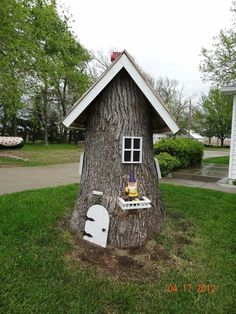 Who wouldnt love to have this in their yard, its so very cute.