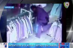 Captado En Video Hombre Inenta Violar Una Mujer En Una Tienda #Video