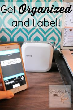 You MUST see this! Get Organized and Label with the new #DYMO MobileLabeler!