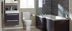 Small Bathroom Design Trends and Ideas for Modern Bathroom Remodeling Projects Modern Small Bathrooms, Modern Bathtub, Contemporary Bathroom Designs, Grey Bathrooms, Modern Bathroom Design, Bathroom Interior Design, Bath Design, Modern Design, Interior Ideas