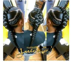 Protective hairstyles 506162445601643660 - Goddess Braids Source by DeloresNubian Black Girls Hairstyles, African Hairstyles, Cute Hairstyles, Braided Hairstyles, Braided Mohawk, Braided Pony, Elegant Hairstyles, Summer Hairstyles, Braids For Kids