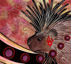 Some energy feels prickly like Porcupine needles. Porcupine energy is about needing to protect yourself from your self and from others. Learning to differentiate insults from fair statements. The person is not afraid to inflict some damage. Protecting a raw tenderness within.