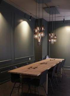 Hatoba Restaurant in Copenhagen - Nordic Design Interior Lighting, Interior Styling, Interior Design, Luminaire Design, Lamp Design, Living Room Inspiration, Interior Inspiration, Scandinavia Design, House Lamp