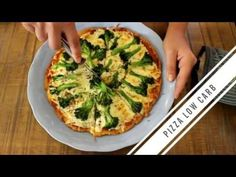 Massa de Pizza Low Carb