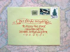 amazing envelope - Primele Caligraphy