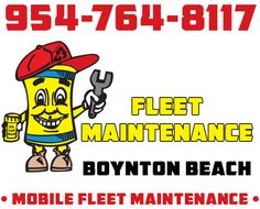 954-764-8117 Boynton Beach Fleet Maintenance with 24hr Roadside Assistance by Oil Can Man. Call Today for Service or to Receive a Quote for Corporate Rates.  #BoyntonBeachFleetMaintenance #FleetMaintenanceBoyntonBeach