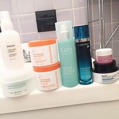 Even though I hardly did anything today , I still feel the need for a full skincare sessio...