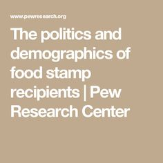 The House on July 11 passed a farm bill stripped of funding for food stamps. A Pew Research survey last year found about one-in-five of Democrats say they had received food stamps compared with of Republicans. Slavery In The Usa, Pew Research Center, Food Stamps, Cleveland, Politics, Facts, Articles