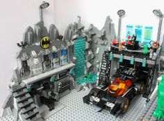 The Batcave MOC