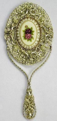 Victorian Hand Mirror ❤❤❤