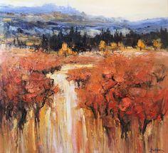 Autumn in Bonnieux, Jean-Paul SURIN