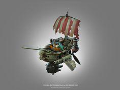 The Flying Dutchman, Vladimir Ziryanov on ArtStation at https://www.artstation.com/artwork/the-flying-dutchman