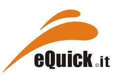 eQuick logo whose products are sold at www.justriding.com