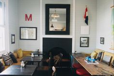 Mart 130 Melbourne cafe interior via Design is Yay!