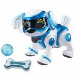 Tekno Robotic Puppy with Bone & Ball Best Offer. Best price Tekno Robotic Puppy with Bone & Ball. Modified to act like a genuine puppy. Communicates with you by hand motion (touch touchy). Christmas Gifts For Kids, Christmas Toys, Christmas Christmas, Christmas Ideas, Xmas, Toy Puppies, Dogs And Puppies, Electronic Toys, Top Toys