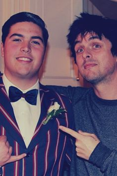Billie Joe Armstrong and his son