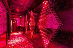 Creative interior of night club in China