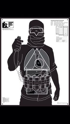 Shooting target for modern times Law Enforcement Today…