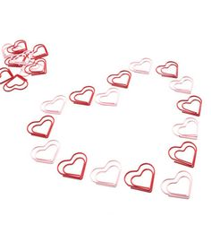 $8 - Heart Paper Clips