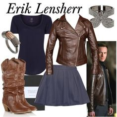 """""""Character: Erik Lensherr Fandom: Marvel Film: X-Men First Class Buy it here!"""" I'm in an Erik Lehnsherr mood too frequently for my own good Character Inspired Outfits, Disney Inspired Outfits, Themed Outfits, Disney Outfits, Super Hero Outfits, Cool Outfits, Fashion Outfits, Casual Cosplay, Cosplay Outfits"""