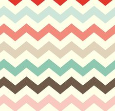 Crafter's Vision - Adornit - Nested Owls - Coral Multi Chevron Cotton Fabric, $9.70 (http://www.craftersvision.com/adornit-nested-owls-coral-multi-chevron-cotton-fabric/)