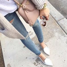 Trend: Pointed Flats | StyleMyDay