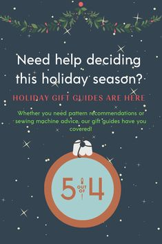 The Gift Guides from are super helpful whether you need a pattern or sewing supplies this holiday season. Sewing Hacks, Sewing Tutorials, Sewing Projects, Pdf Sewing Patterns, Clothing Patterns, Holiday Gift Guide, Holiday Gifts, Fall Sewing, Making Connections