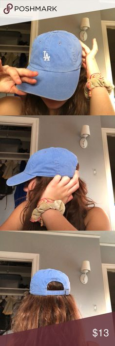 LA baseball hat 💥blue 💥worn once 💥says LA  let me know if you have any questions or want to negotiate! PacSun Accessories Hats