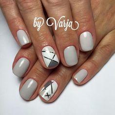 tape-nails-100 Top 57 Gel Nail Design Trends 2018 Nail Art trends nail gel design 2018
