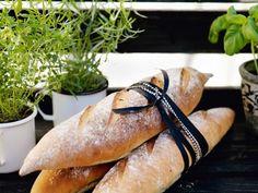 Fem lättbakade bröd