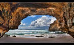 """""""Ghosties Sea Cave""""- Ghosties Beach, NSW, Australia – Steve Passlow"""