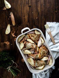 Thanksgiving Dinner: Hühnerkeulen mit Honigmarinade    Nummer Fünfzehn