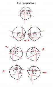 Step by Step tutorial : How to Draw Anime / Manga - Eyes