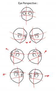Step by Step tutorial : How to Draw Anime / Manga - Eyes
