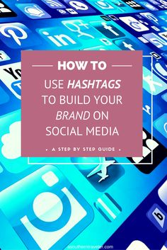 How to use Hashtags to Build your Brand on Social Media. Check out these simple…