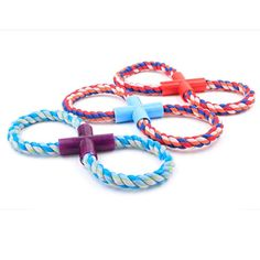 Cotton Rope Pet Dog Chew Toys For Large Dogs Biting Teeth Cleaning Molar Rope Toy Resistent Pet Supplies