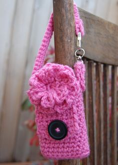 The Crafty Cottage: Crochet Cell Phone Case - FREE Pattern