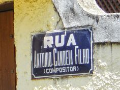 POETAS DE JACAREPAGUÁ ETC  : ANTONIO CANDEIA FILHO, RUA #  Antonio Cabral Filho...