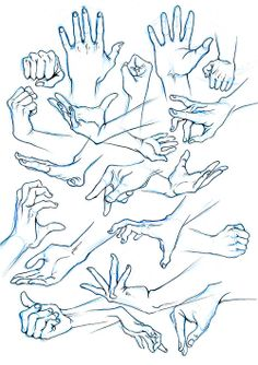 male hands ref by  miyuli